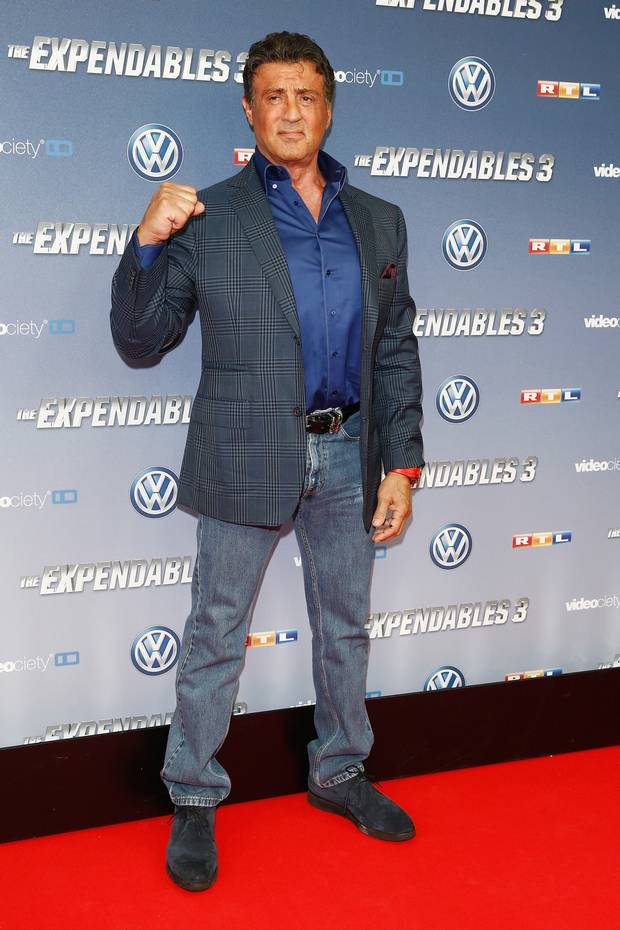 Has Sylvester Stallone Been Wearing Shoe Lifts All These ...